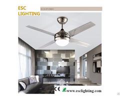 White Light Ceiling Fan