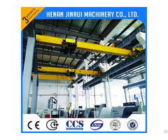 10ton Single Girder European Overhead Bridge Crane
