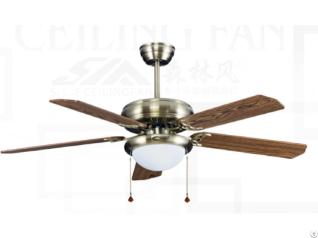 Electric Ceiling Fan Light With Ce Hot Sell In Europe And South America