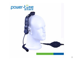 Bone Conduction P25 Radios Headset Microphone Pte 129f