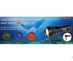 Dive Lights Orcatorch D810