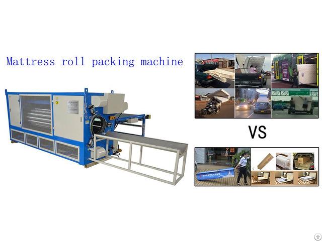 Mattress Roll Packing Machine