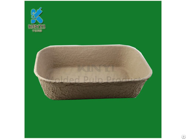 Biodegradable Molded Pulp Plant Tray