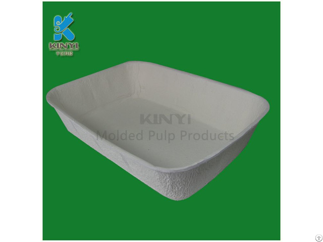 Disposable Yellow Pulp Plant Pots Tray