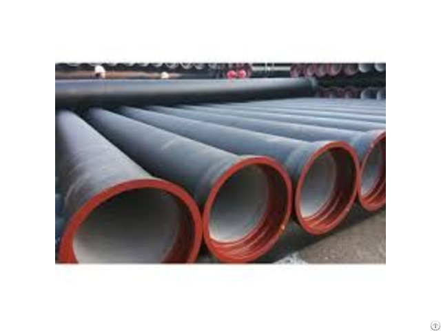 Bs En545 Ductile Iron Pipe Dn200 Bitumen Coating
