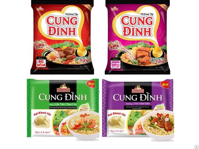 Cung Dinh Instant Noodles 80gr/bag