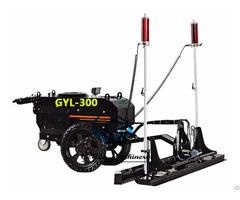 Hydra Driver Concrete Laser Floor Levelling Machine Gyl 300 With Kohler Engine