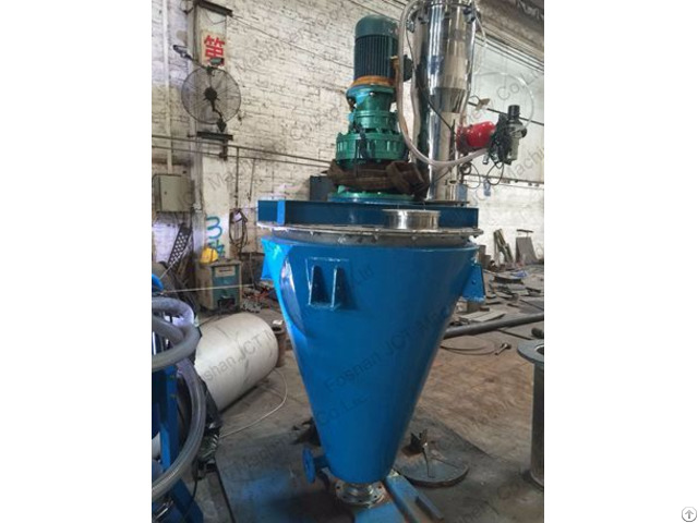 Jct Double Screw Mixer For Powder Production Line