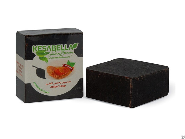 Black Amber Soap