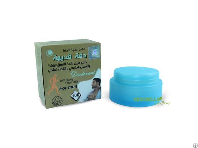 Natural Deodorant Cream With Honey
