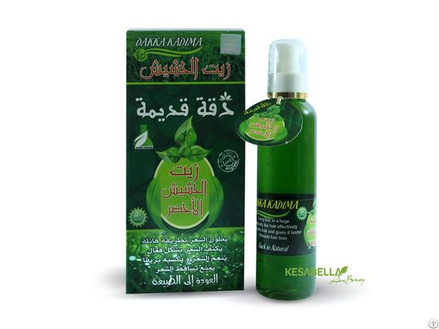 Natural Hair Green Grass Oil