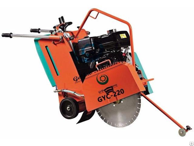 Road Saw Cutting Machine Gyc220 Series With Honda Gx390