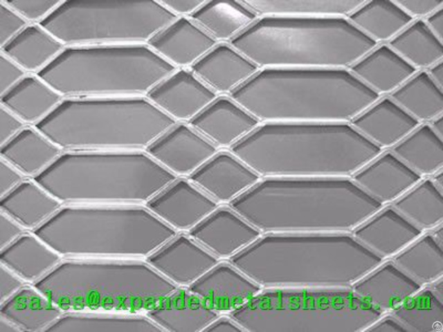 Raised Expanded Metal Sheet