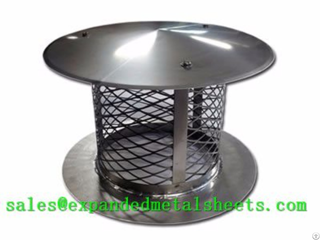 Expanded Metal Chimney Cap