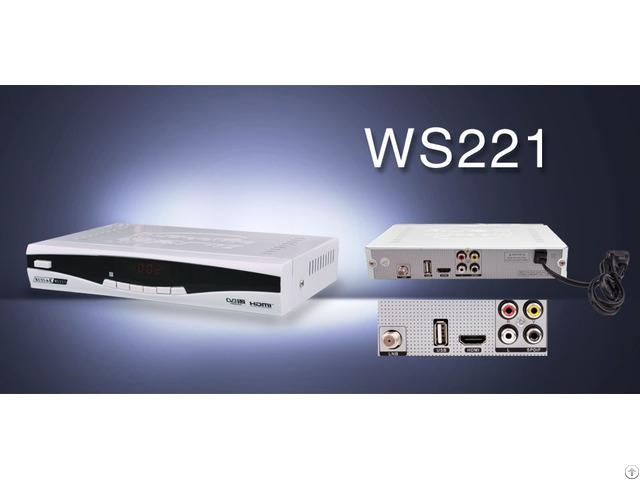 Digital Satellite Tv Receiver Dvb Ws221