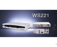 Digital Satellite Tv Receiver Dvb Ws221