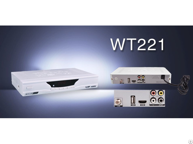 Digital Terrestrial Tv Rceceiver Dvb Ws221