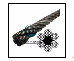 Bright Wire Rope Eips Fc 6x19 Class Lineal Foot