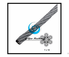 Galvanized Steel Wire 7x19 Aircraft Cable