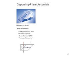 Beam Splitting Prism Assembly