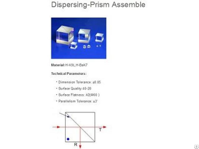 Rectangle Beam Splitting Assembly