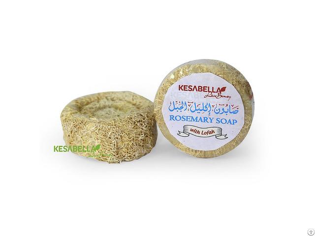 Rosemary Soap With Soft Lofah