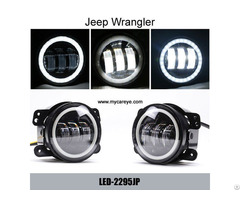 Jeep Wrangler Power 30w Cree Auto Drl Lighting Headlamp External Led Fog Light