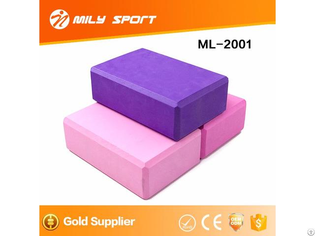 Hot Sellhigh Density Eva Foam Building Blocks Yoga Block