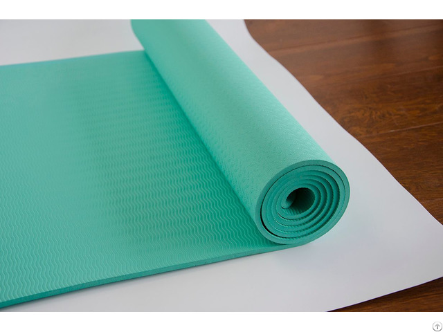 Mily Double Layer Pvc Free Yoga Mat Tpe Non Slip