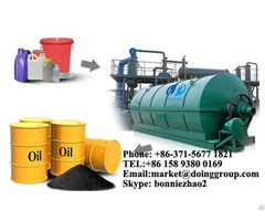 Plastic Pyrolysis Oil Recycling Plant
