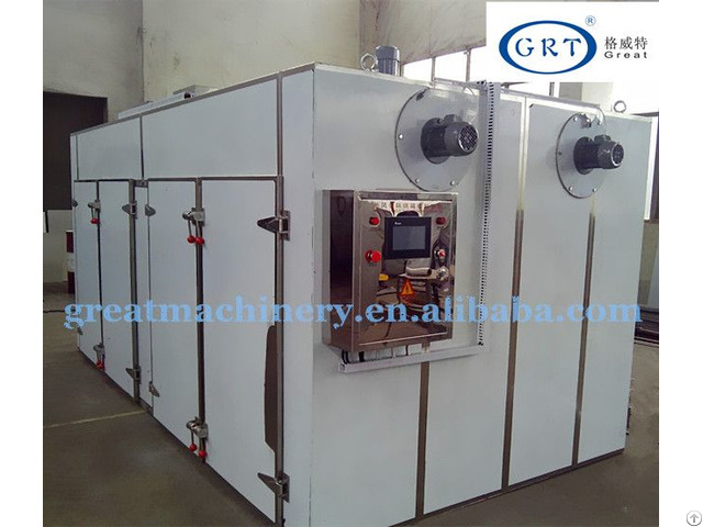 Grt Industrial Machine For Fruits Hot Air Circulation Dryer