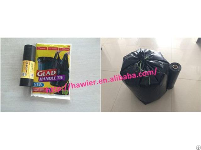 China Manufacturer Black Garbage Bag For Houshold
