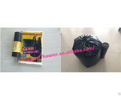 China Manufacturer Black Garbage Bag For Houshold