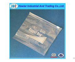 Household Use Food Grade Ldpe Plastic Slider Bag With Logo