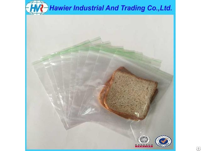 Food Packaging Bread Ziplock Bags