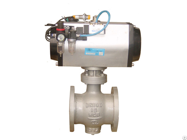 The Pneumatic Half Ball Valve