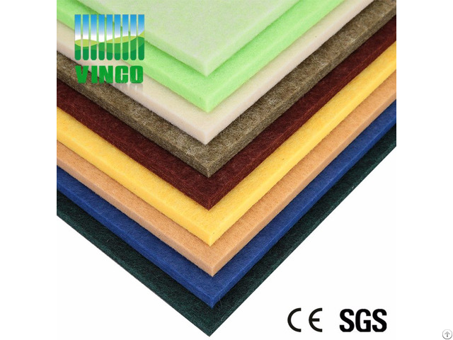 Pet Fiber Polyester Acoustic Panel Wholesale Interior Decorative 3d Wall Panels