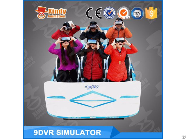 Exciting 360 Rotation 9d Vr Cinema With Virtual Reality Film