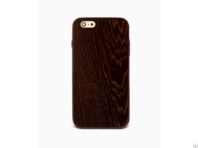 Sau Wenge %100 Wood Iphone Case