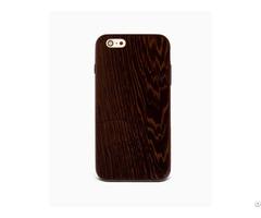 Sau Wenge %100 Wood Iphone Case