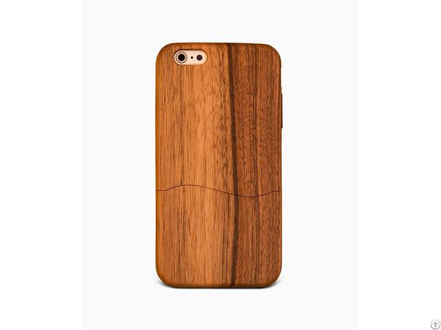 Glyde Walnut %100 Wood Iphone Case