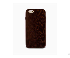 Sau Wenge %100 Wood Case For Iphone 6 6s Plus