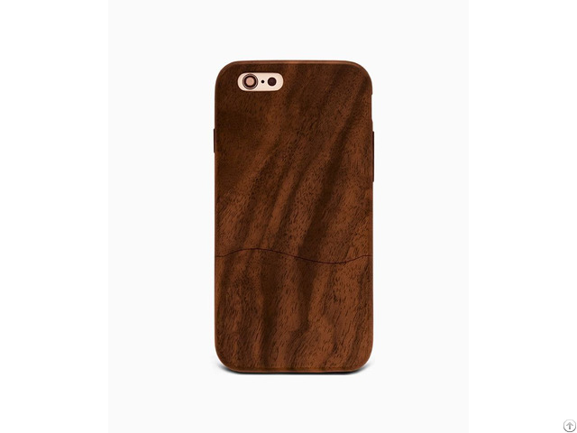 Desierto Walnut %100 Wood Case Iphone 6 6s