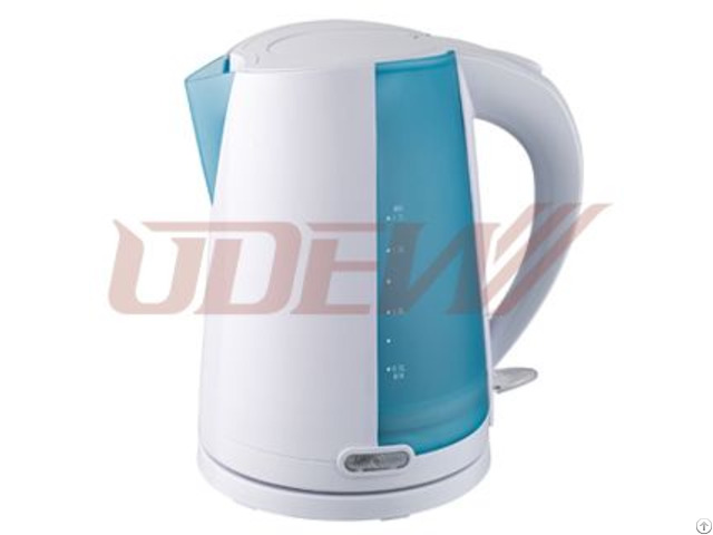 Plastic Concealed Electric Kettle 1 7l
