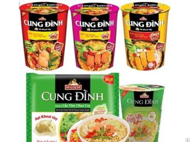 Cung Dinh Instant Noodles 65gr Cup