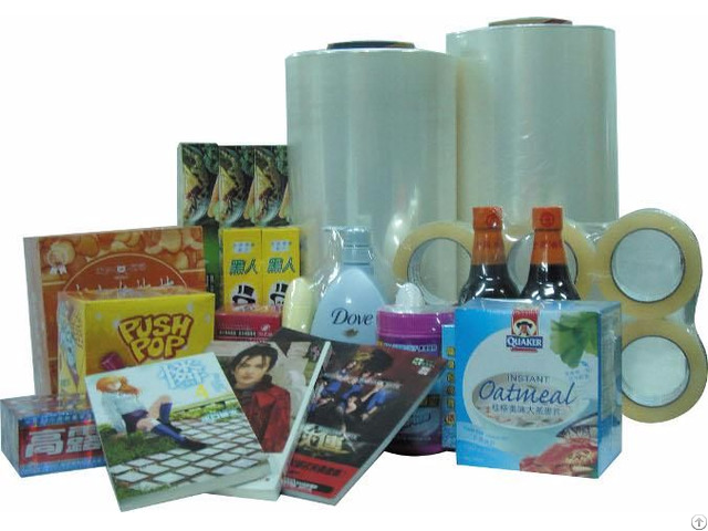 China Heat And Soft Pof Pla Shrink Film For Packing