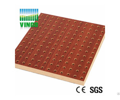 Perforated Wooden Acoustical Diffuser Acoustic Panel Malaysia