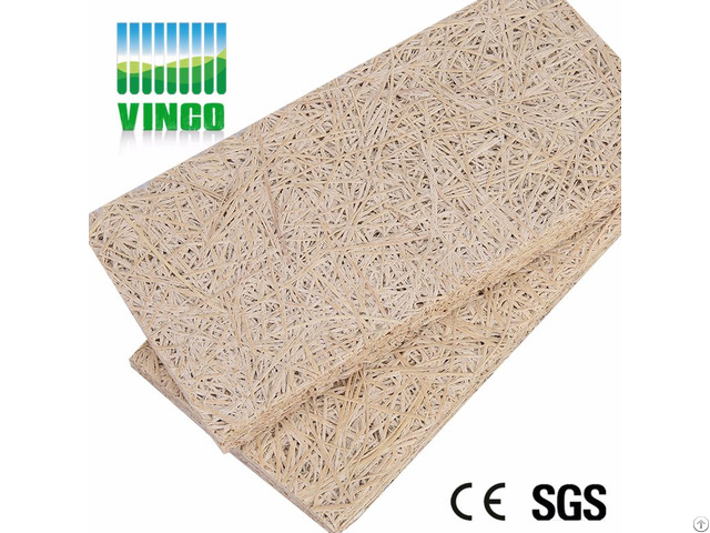 Acoustic Panel Type Wood Wool Cement Board