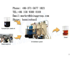 Plastic To Diesel Fuel Recycling Plant