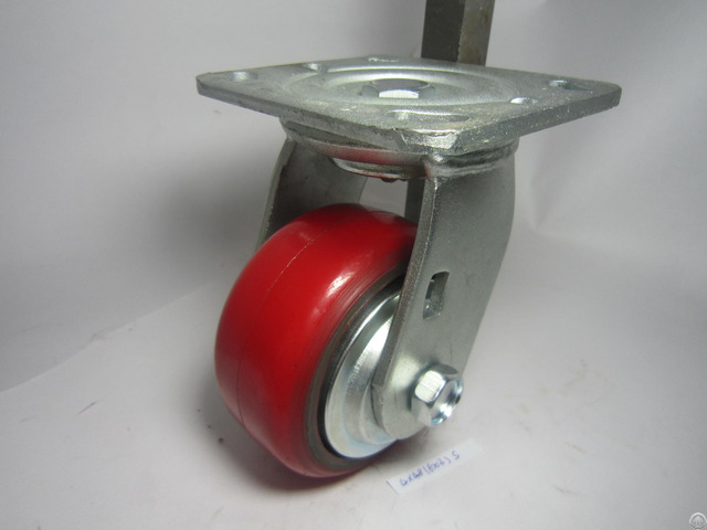 Swivel Pu Caster With 4 Inch Wheel